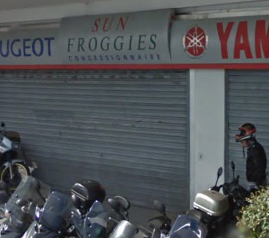 Garage Sun Froggies Sainte Maxime