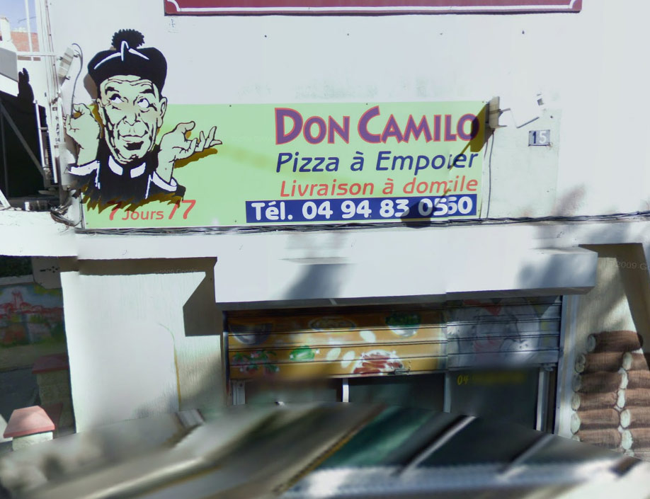 Pizzeria Le Don Camillo Pizza Saint Raphael