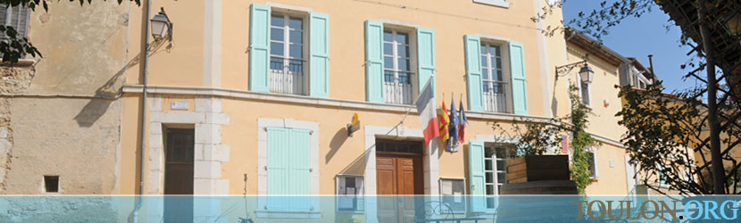 Photo Baudinard sur Verdon : La mairie sur la Grand'Rue.