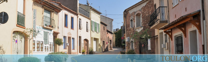 Photo Puget sur Argens : La rue Edouard Branly