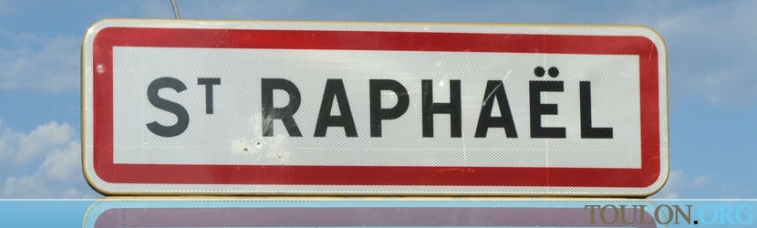 Photo Saint Rapha�l : Entr�e dans Saint Rapha�l par la D 100 en provenance de Fr�jus.