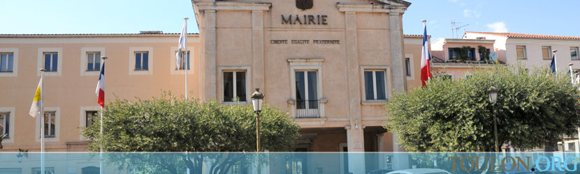 Photo Saint Rapha�l : Mairie place Sadi Carnot.